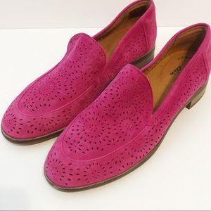 NWT Clark's Trish Calla hot pink size 6.5